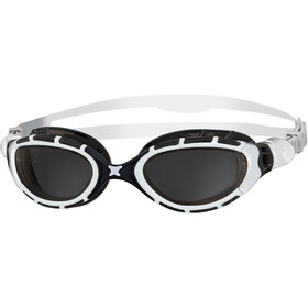 Zoggs Predator Flex Laskettelulasit, white/black/smoke